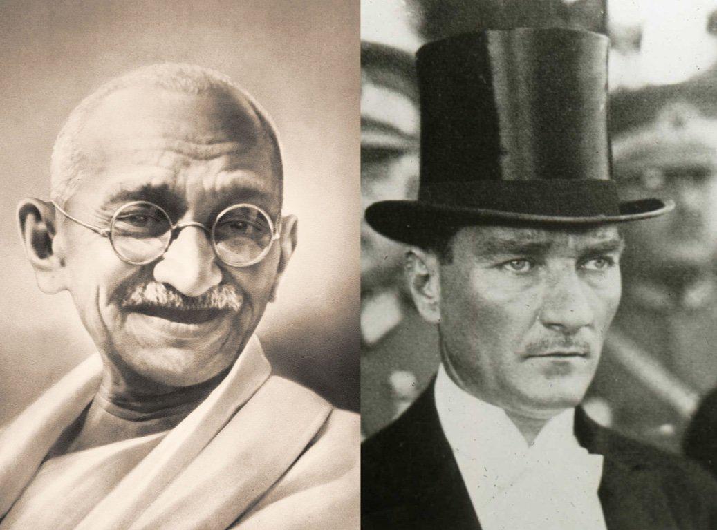 ''Hindistan'ı bağımsızlığa götüren Gandi'nin kahramanı Mustafa Kemal'di.'' https://t.co/VC7T3SkwP2