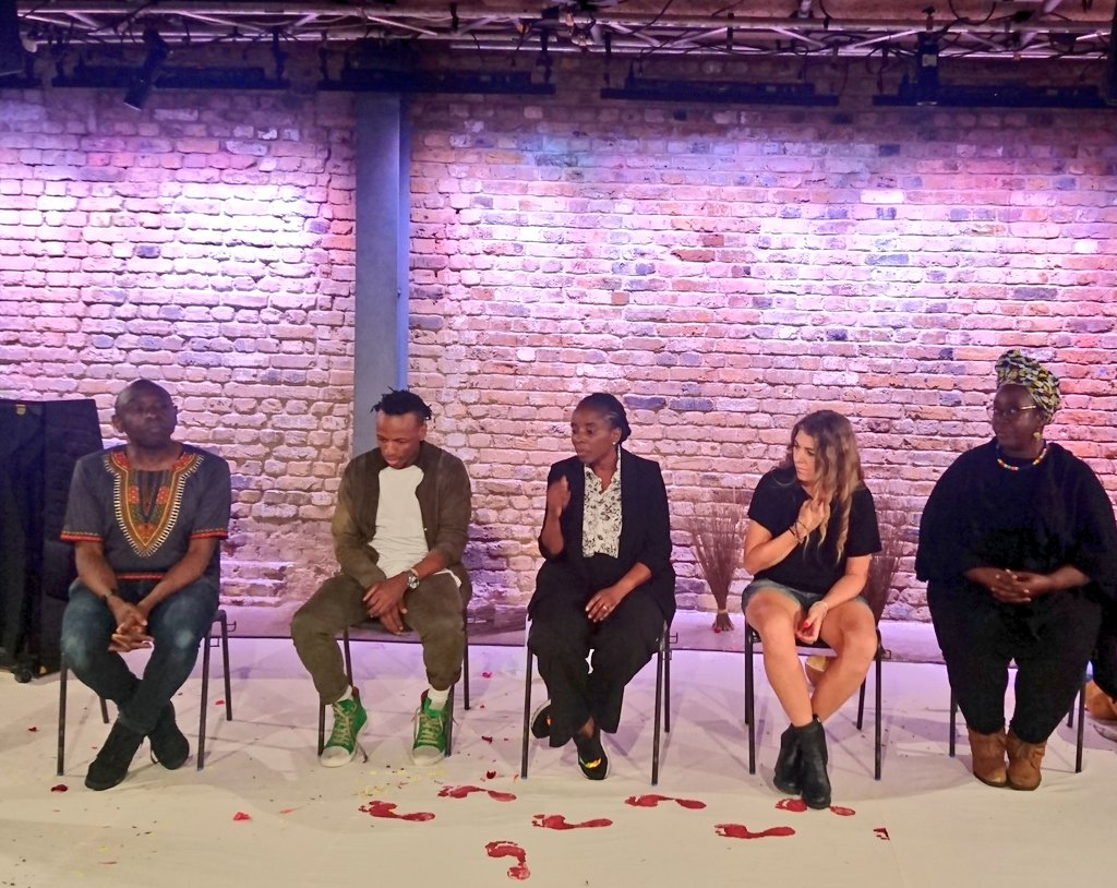 test Twitter Media - The Pied Piper of Chibok is a mesmerising work bringing together opera, West African culture & classical music traditions. Sitting in the Q & A w/ director, designer, librettist, choreographer & composer is inspiring #utopiatheatre #Grimeborn #mosaicoperacollective @arcolatheatre https://t.co/D4qxiV609D