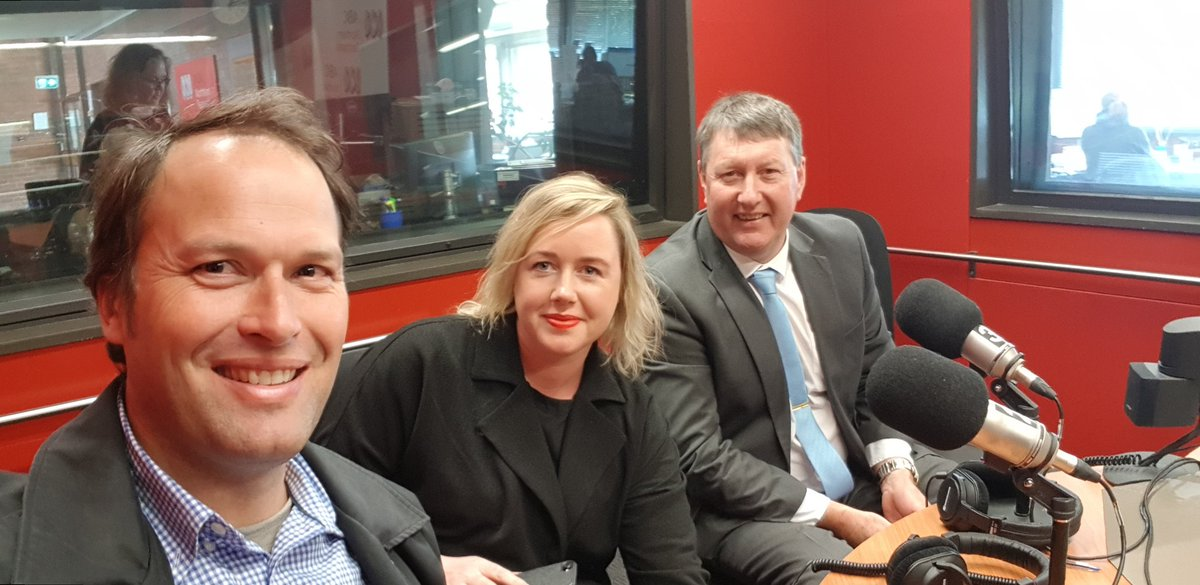 In the @ABCRural northern tasmania studio with...