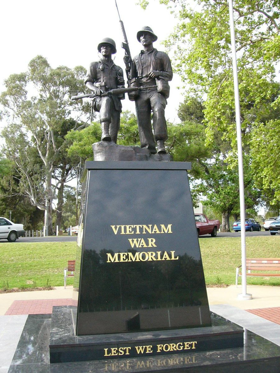 test Twitter Media - Vietnam Veterans Federation SA will hold a Reflection Service at the Vietnam War Memorial, Torrens Parade Ground, on Saturday 18th August, starting at 3pm. It is open to veterans, families and the public. Awarded medals may be worn and the service is informal. https://t.co/Ir44PdDB3b
