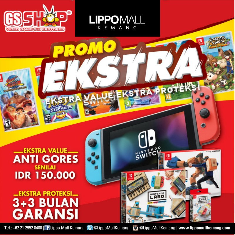 Extra Promo from GS Shop! Extra value and extra protection. . #LippoMallKemang #LMK #GSSHOP https://t.co/ROVFOIeXQr
