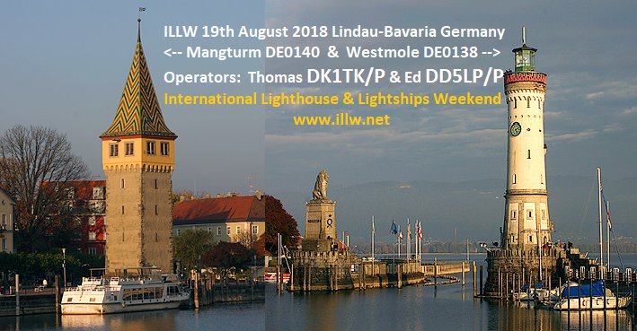 test Twitter Media - International Lighthouse and Lightship Weekend - Ed, DD5LP will be activating DE0138 Westmole and DE0140 Mangturm lighthouses in Lindau on Lake Constance in South Germany this weekend https://t.co/90wuxXUHzt #illw #hamradio #hamr https://t.co/iRruqJ929K