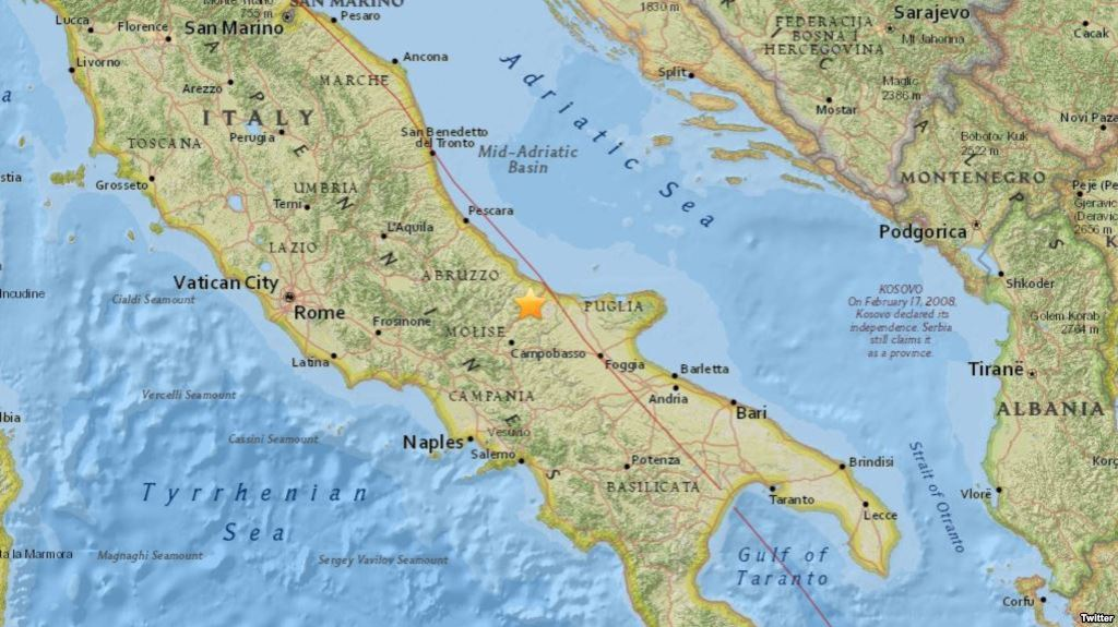 test Twitter Media - Terremoto de 5,2 estremece centro de Italia https://t.co/oG9tSv7ZWp https://t.co/rW2RKEGNWT