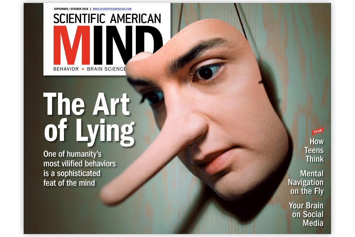 test Twitter Media - Lying has gotten a bad rap. In fact, it is among the most sophisticated accomplishments of the human mind. But how can one tell if a person is fibbing?  Check out the latest issue of Scientific American Mind: https://t.co/eE8sUw33lb https://t.co/SHJbibX0dj
