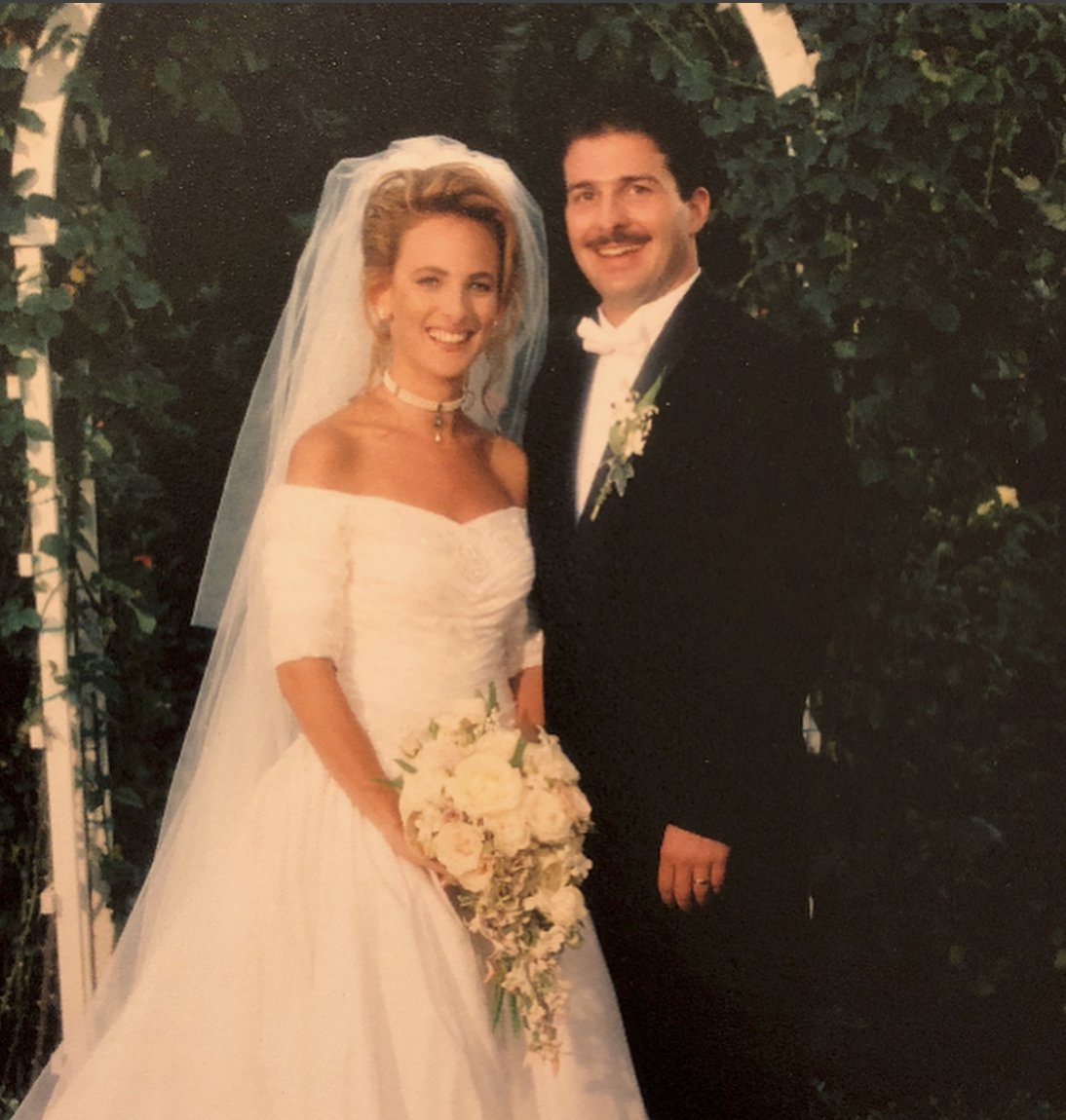 25 years ago today, I married this wonderful man. Happy 25th Anniversary to Kevin and me! #trulyblessed https://t.co/Kj8HxiRKep