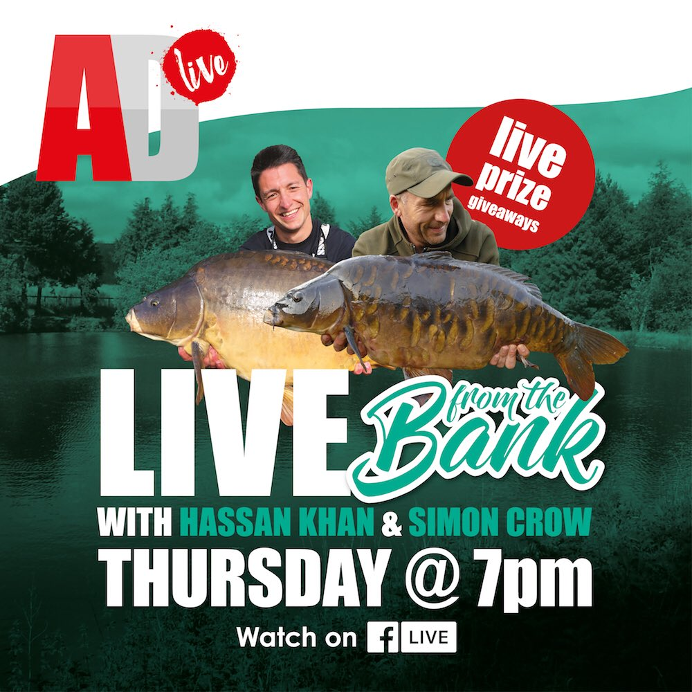 This should be fun lol, tonight at 7pm on the Angling Direct Facebook <b>Page</b>, live from the ban