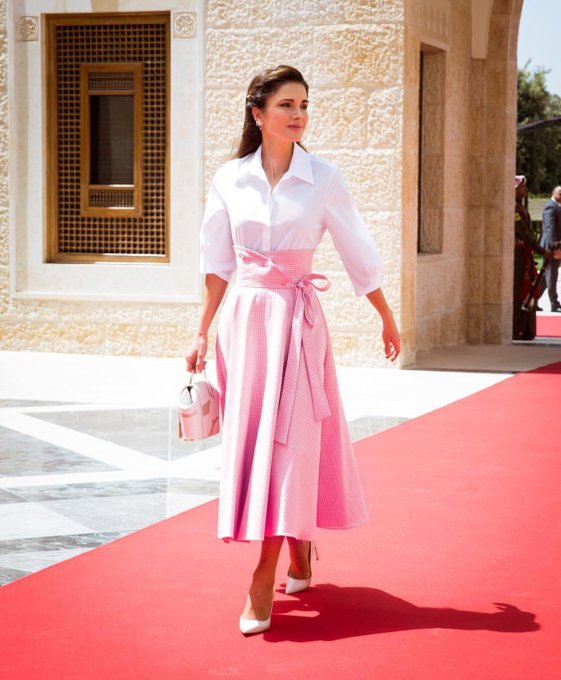 Happy Birthday To Her Majesty Queen Rania Al Abdullah