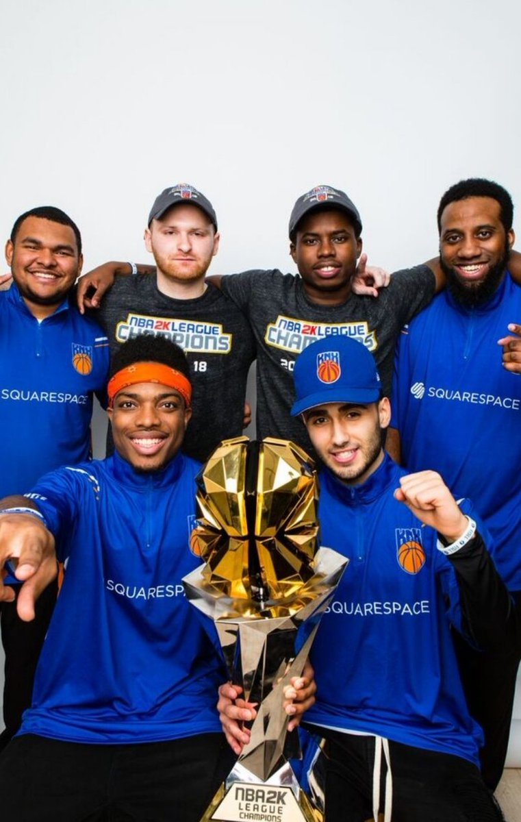 RT @yeynotgaming: NBA2K League 2018 Champions https://t.co/nzttbh5Pah