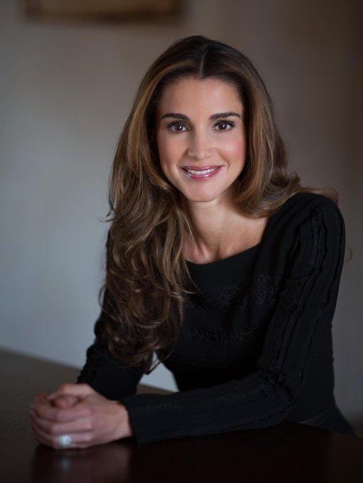 Happy 48th Birthday Queen Rania of Jordan!