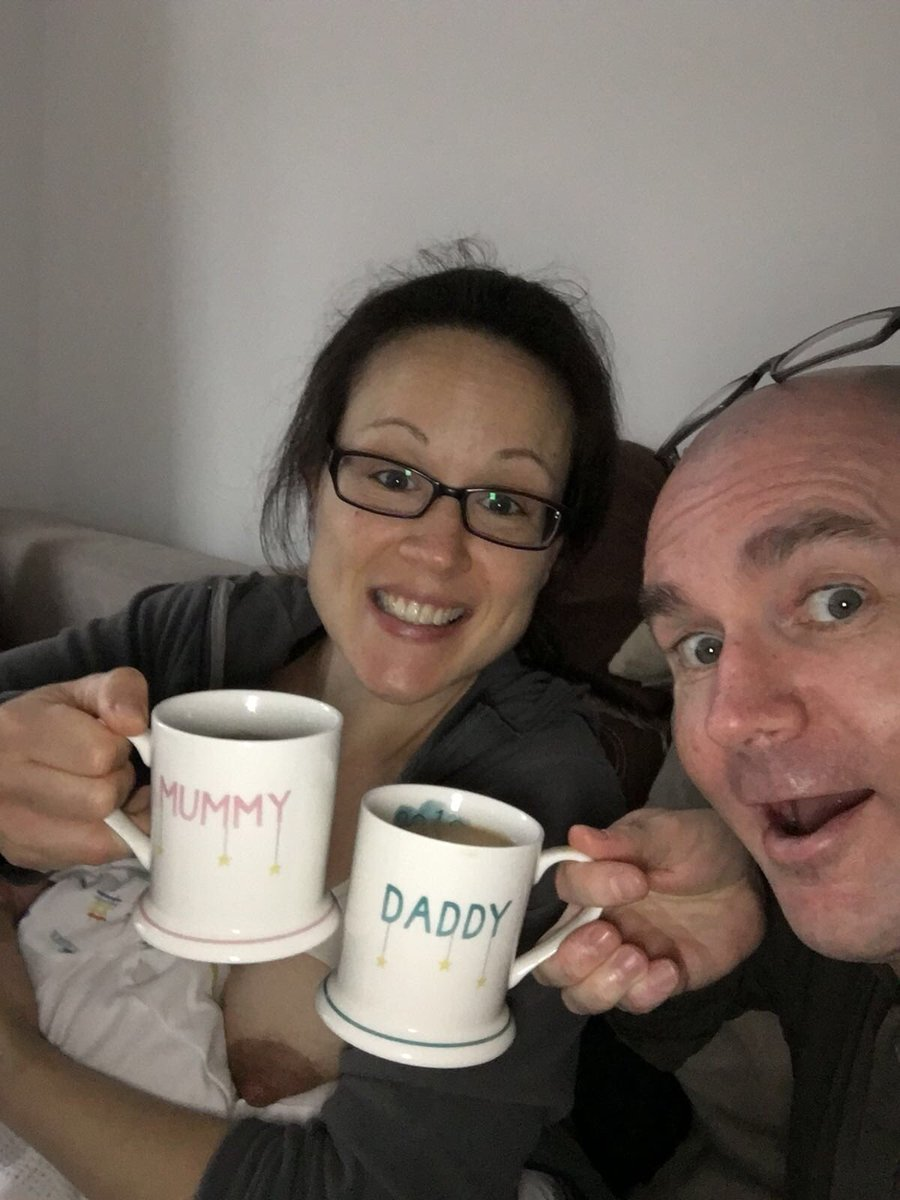 Sent a nice pic to my family thanking them for our new mugs...3 days later realise my boob's in it 😂
