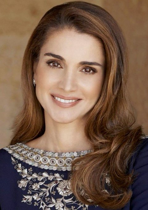 Queen Rania August 31 Sending Very Happy Birthday Wishes! All the Best!