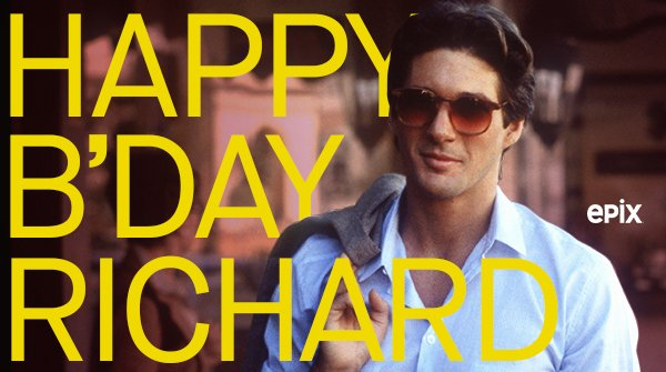 Happy birthday to the incomparable Richard Gere! Watch him in American Gigolo, only on