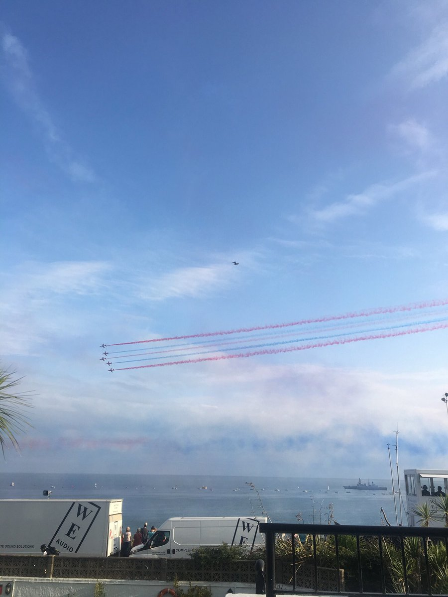 test Twitter Media - Daisy enjoying the Red Arrows at the Bournemouth Air Show. https://t.co/DOvCBlPJKu