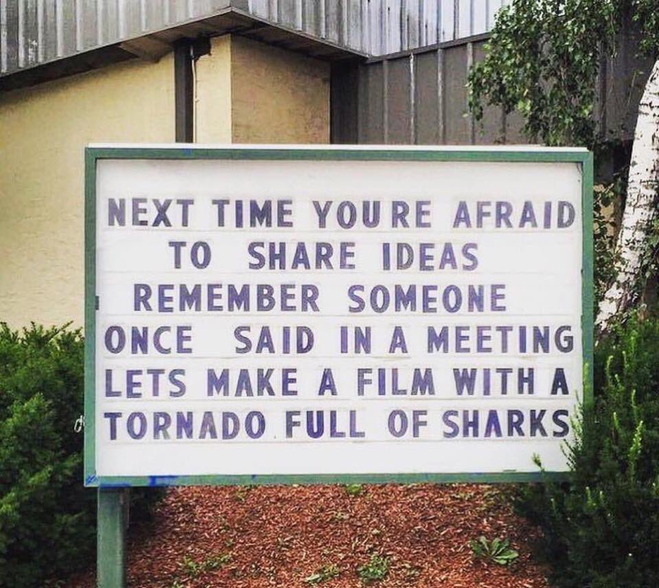 RT @jbyerly81: Your inspiration for this week #Sharknado6 https://t.co/Y8SOWPWuC3