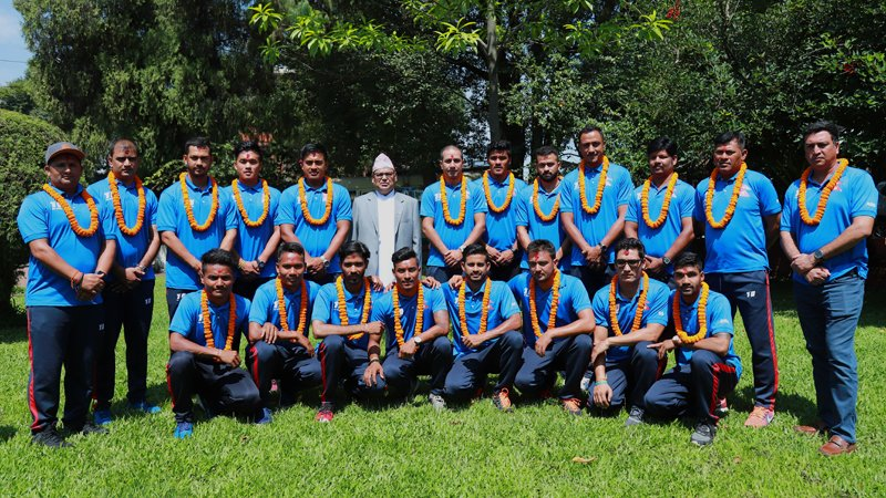 test Twitter Media - नेपाली क्रिकेट टोली अभ्यासको लागि श्रीलंका प्रस्थान... https://t.co/gb1Py8XMfi https://t.co/qad521cVdD