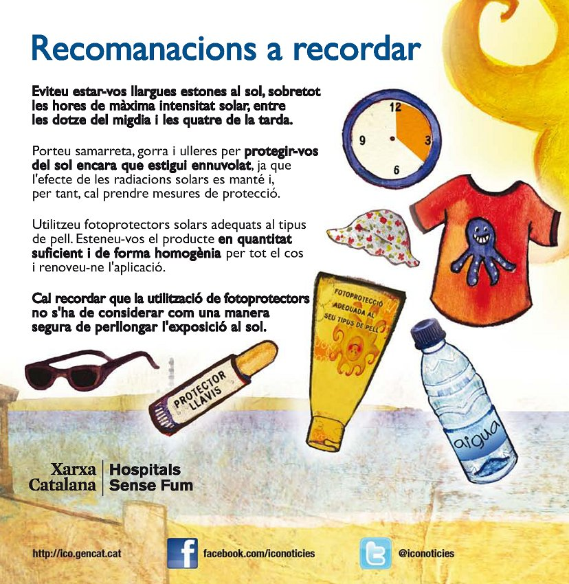 test Twitter Media - Mesures de protecció solar: Recomanacions a recordar. @salutcat @ICOnoticies https://t.co/PatiJ5gTuu