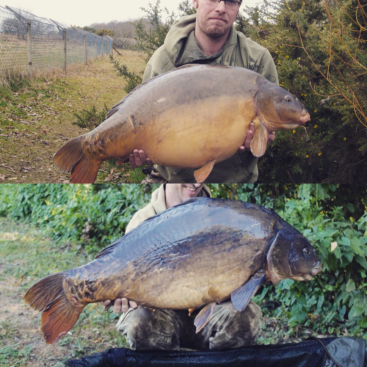 "Me with ""Stella"" at 36 now a mid 40 10 <b>Years</b> on #carp #oldschoolcarp #carpfishing https:/"