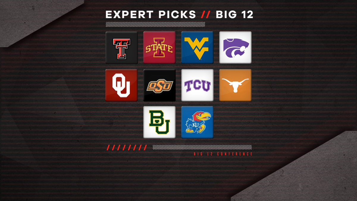 Big 12 expert picks: Overrated, underrated teams, surprises and predicted order of finish https://t.co/WALAGapZ6h https://t.co/bU9DhLvuiA