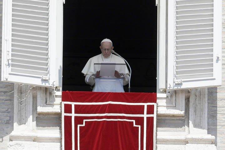 @BroadcastImagem: Papa Francisco condena
