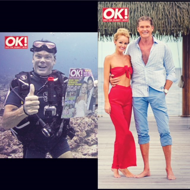 Having a great time on our honeymoon @OK_Magazine https://t.co/SXMd2aflgn