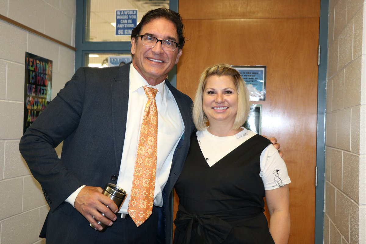 """test Twitter Media - On the first day at Maple School, Principals Dr. Carter and Ms. Holzkopf reminded everyone, """"Nurturing and maintaining a Happy Herd of Maple Mustangs is an important aspect of our work as educators."""" #d30learns https://t.co/VFY3BTrydi"""