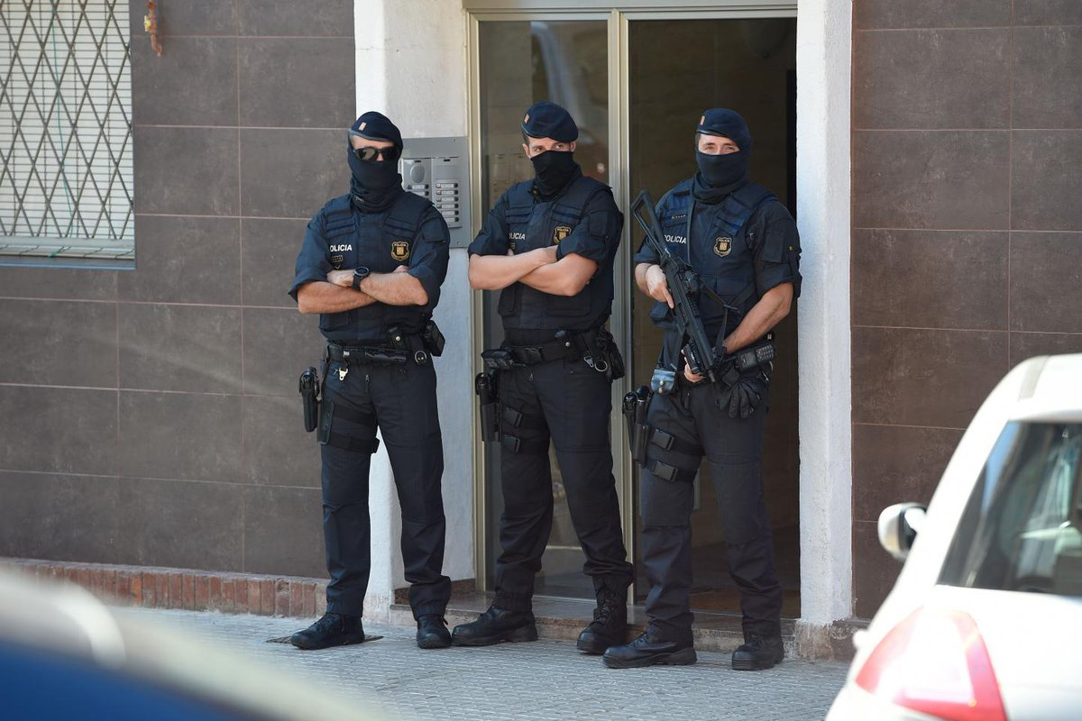 ICYMI: A man in Spain was shot and killed by police after lunging at officers with a knife