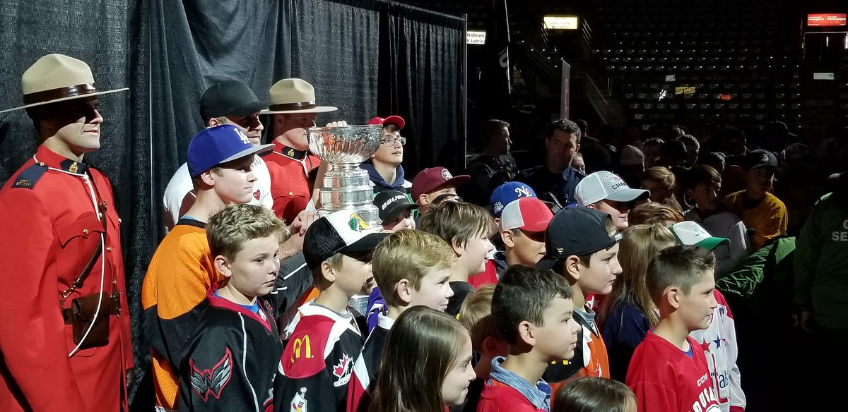 test Twitter Media - Local minor hockey players are getting the first chance to see @StanleyCup with @BCHockey_Source alumni @bconnolly8. @Capitals #CityofPG https://t.co/RN7Hy1BZnZ
