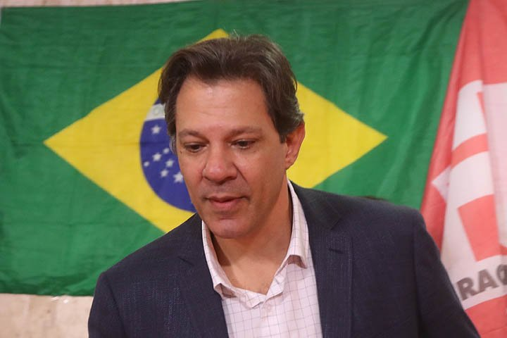 @BroadcastImagem: 'A ofensiva internacional vai aumentar', diz Haddad sobre candidatura de Lula. Alex Silva/Estadão