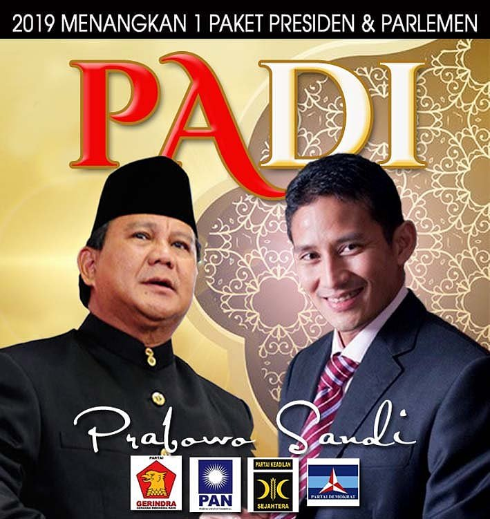 PADI.. Prabowo Sandi. https://t.co/b6EsYS6ZqK