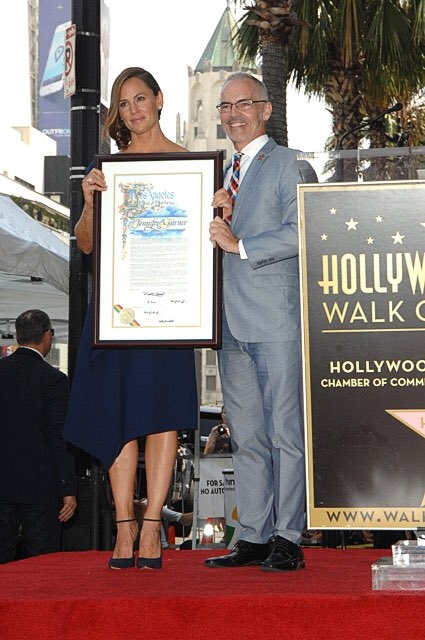 test Twitter Media - Congratulations Jennifer Garner on receiving a star on the #Hollywood #WalkofFame! From the small screen to the big screen, you have shared your light with audiences across the globe with a career full of memorable performances. @wofstargirl @HollywoodArea https://t.co/7qyjrb3bIi