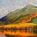 Image for the Tweet beginning: Combining neural style transfer and
