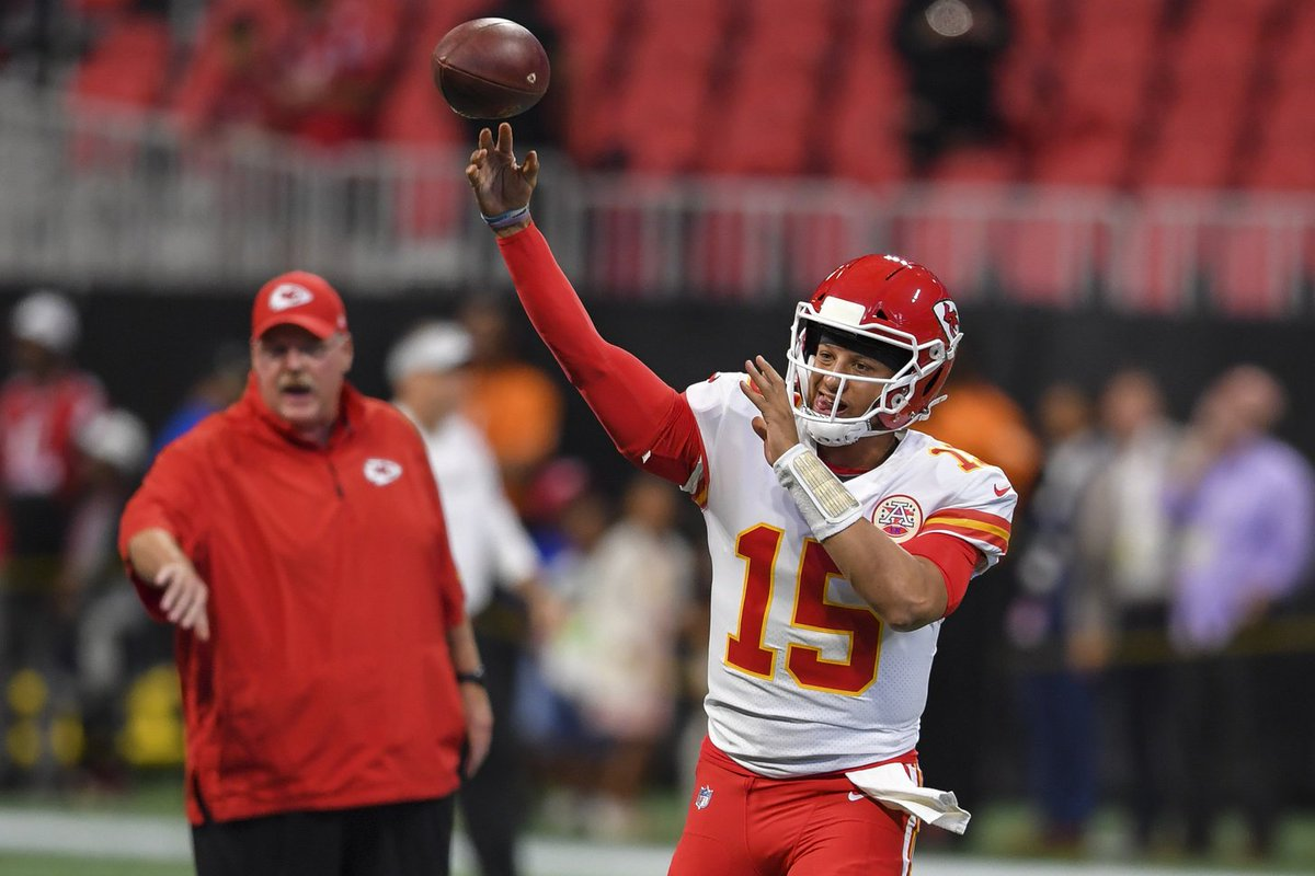 test Twitter Media - We heard from head coach Andy Reid post the 68.6 yard bomb heard round the world....#ShowAndVern https://t.co/JuXKixcj7y https://t.co/Py2ainoGNe