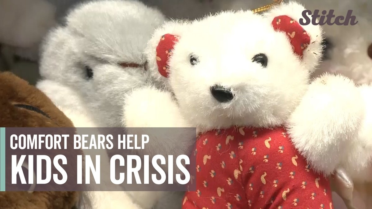 test Twitter Media - Police officers use 'comfort bears' to help children cope with trauma https://t.co/8t7JolhdHV https://t.co/Rzoj3rRNln