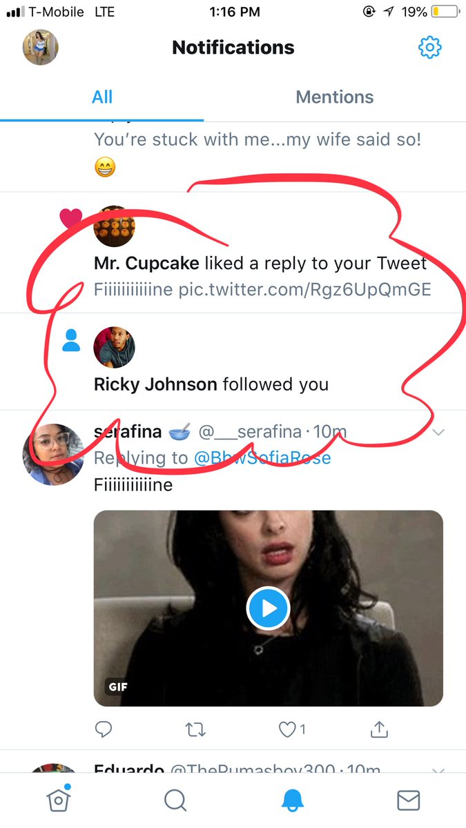 Thanks for making my day Ricky Johnson 😍  Ignore tho, were no longer friends