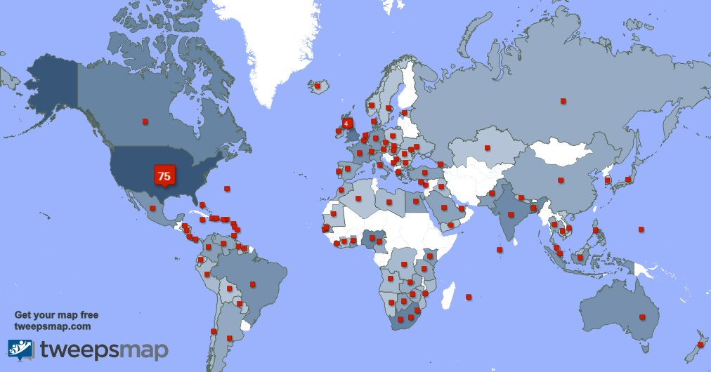 I have 20 new followers from South Africa 🇿🇦, USA 🇺🇸, and more last week. See GCleYnYflL