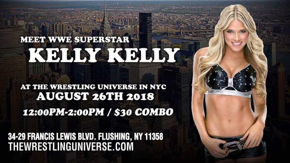Hey flushing, NY come out and say hi this Sunday at the wrestling universe from 12-2pm!!!! https://t.co/KbWvK5hf8J