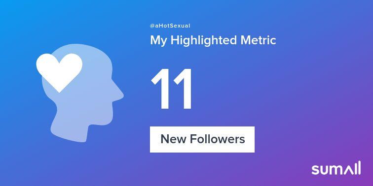 My week on Twitter 🎉: 11 New Followers. See yours with gybNF3aJn3 yyvx8HYW