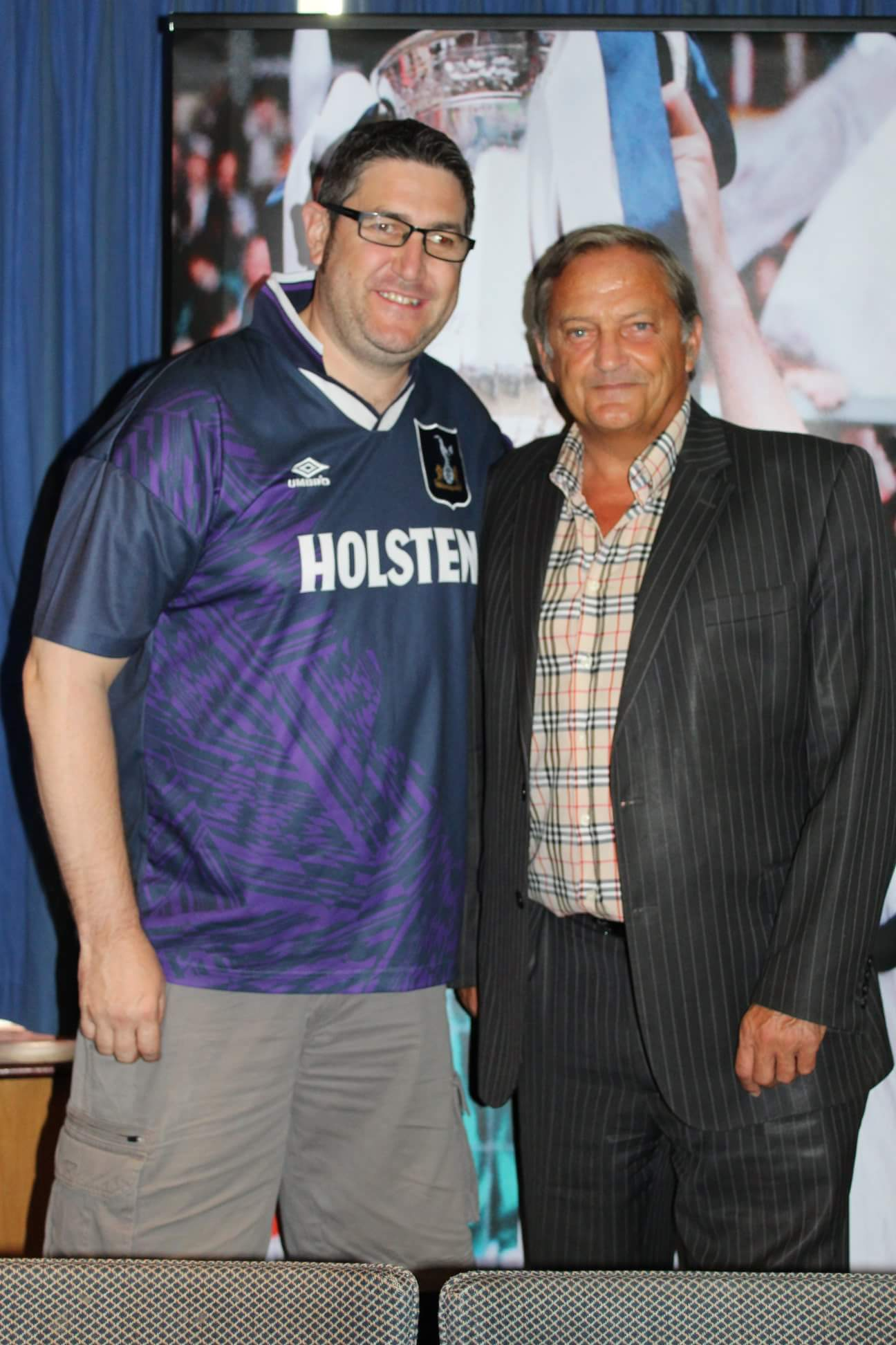 Morning guys happy birthday to our Captain Gary Mabbutt