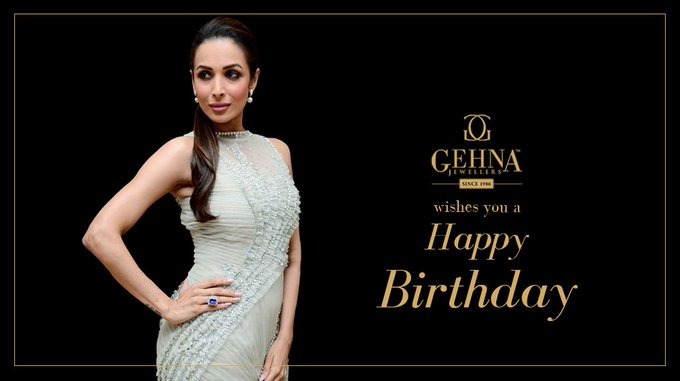 The Gehna Family wishes the ever-so charming Malaika Arora Khan a very Happy Birthday and a wonderful year ahead.