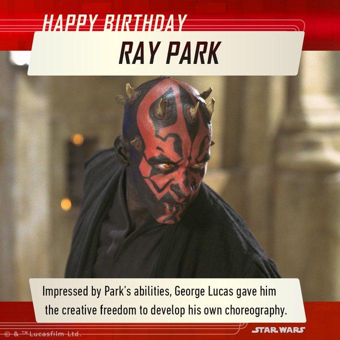 Happy Birthday Ray Park!