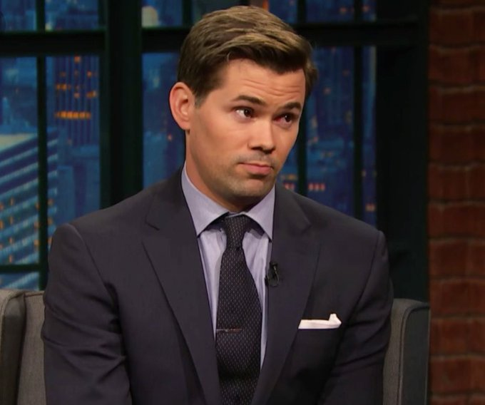 Quick reminder: It is Andrew Rannells birthday today. Have a good day!! Happy Birthday to this iconic bean