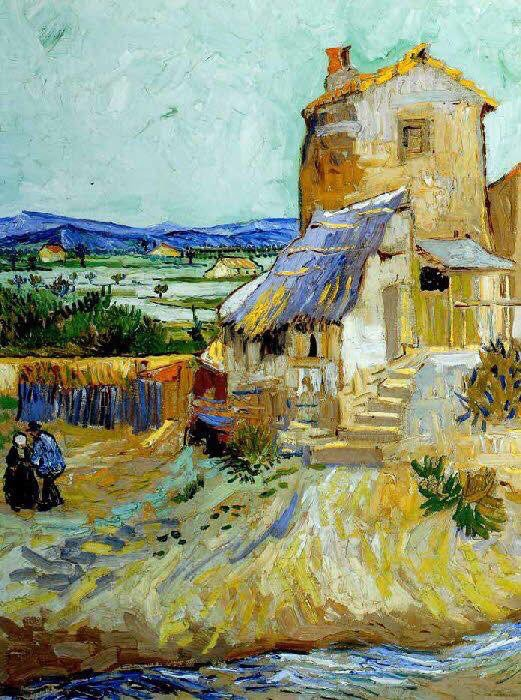 Vincent Van Gogh  The old mill https://t.co/kmejpx8Yec
