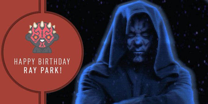 At last we will reveal our happy birthday wishes to Ray Park!