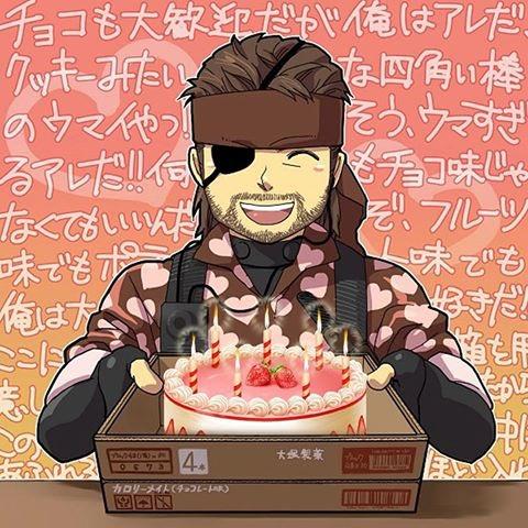 Happy birthday Hideo