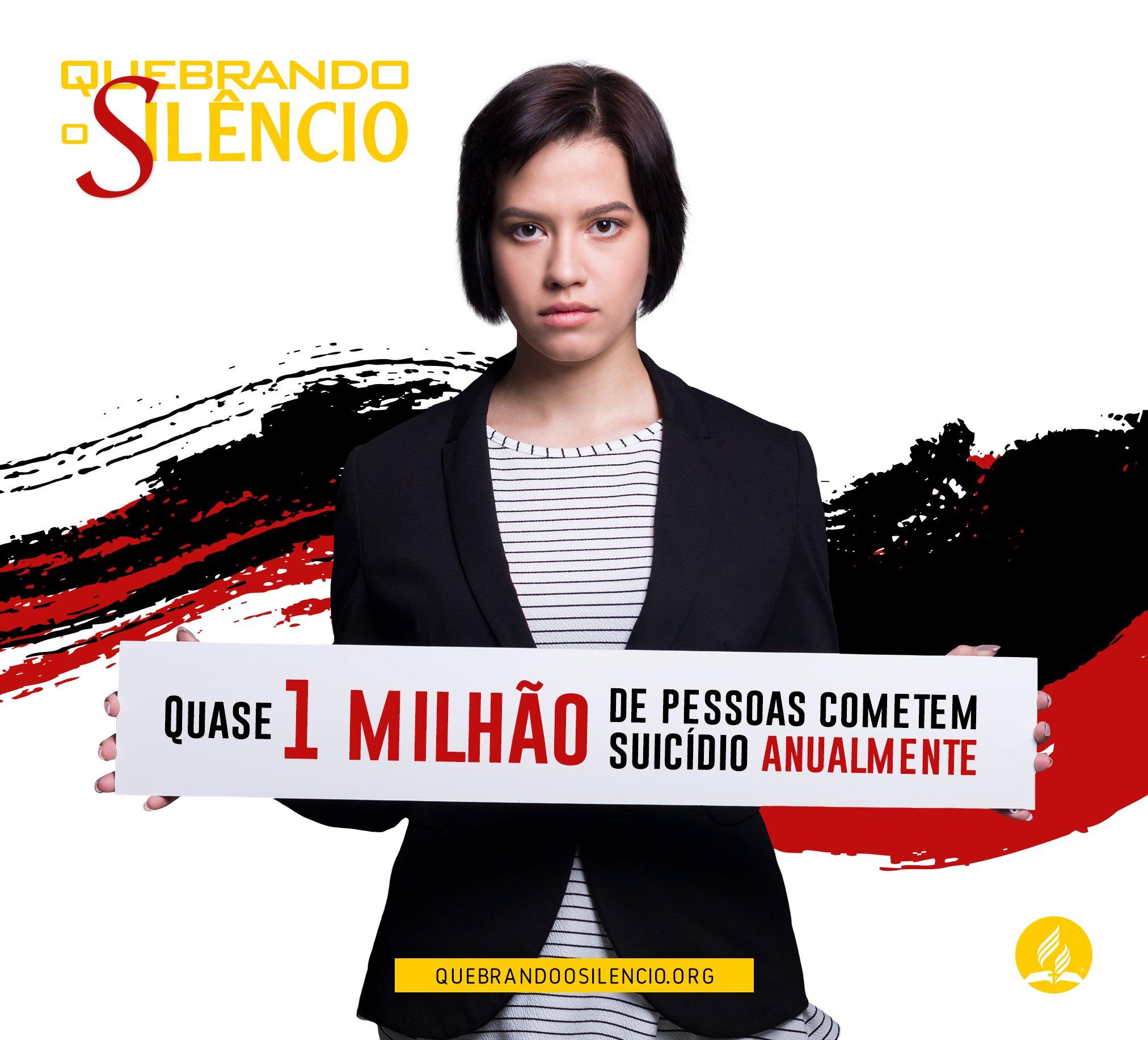 Quebrando O Silêncio - Magazine cover