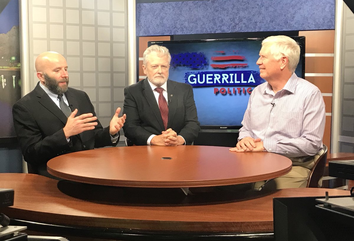 Tune in on Sunday as I join @TheDaleJackson and Dr. Waymon Burke on Guerilla Politics.  The show airs Sunday at 10:00 am on WAAY Channel 31 and on WVNN. #SayNoToSocialism