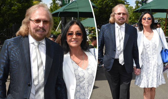 Happy Birthday Sir Barry Gibb and Happy Anniversary Barry and Linda.
