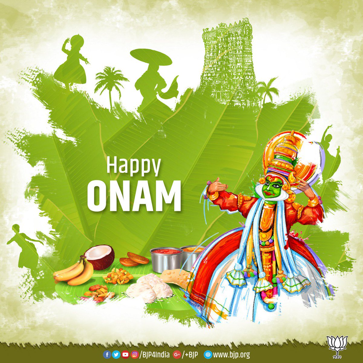 Greetings On The Auspicious Occasion Of Onam Happyonam Scoopnest