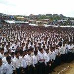 """#Rohingya in Bangladesh mark """"25 August Black Day"""" /3"""