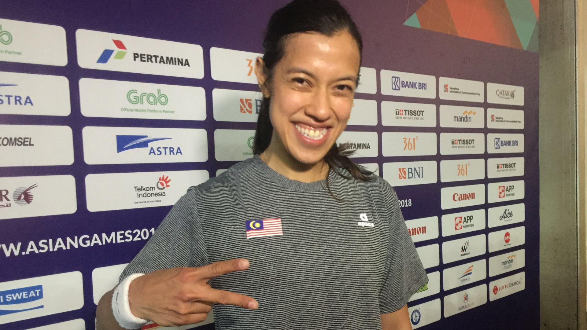 Happy birthday @NicolDavid ! Hard fought @asiangames2018 gold medal for a memorable birthday gift. Wish you nothing but the best my friend. https://t.co/SyYt4Ippnq